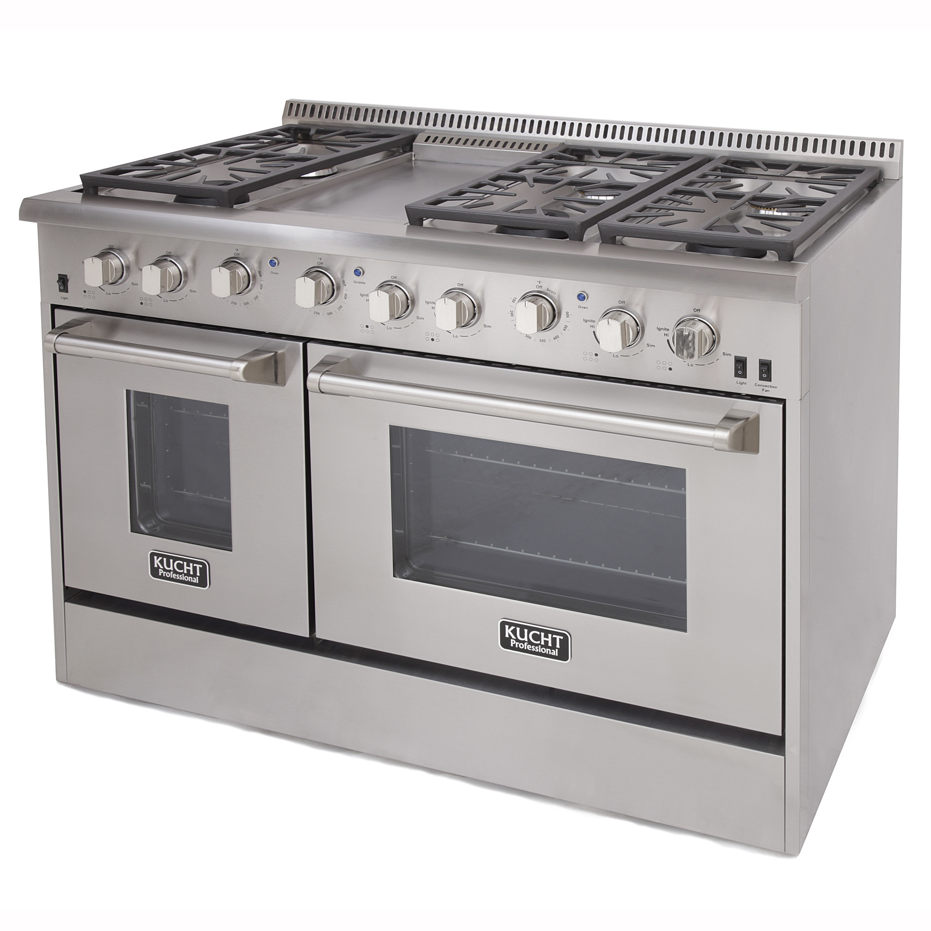 Side by side double oven gas stove - 2 Picture