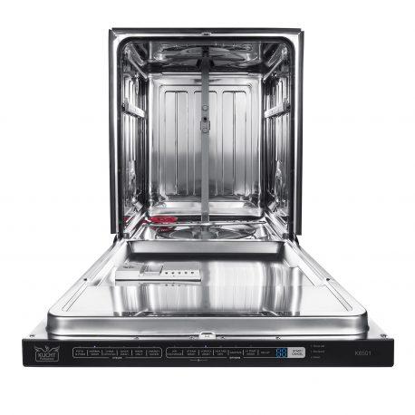 "Front Open Empty 458x458 - K6501D - 24"" Dishwasher"