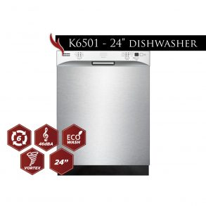 "foto model k6501 24dishwasher 014 293x293 - K6501D - 24"" Dishwasher"