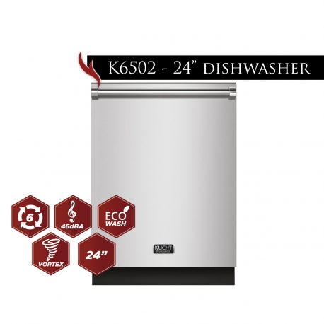 "foto model k6502 24dishwasher 014 458x458 - K6502D - 24"" Dishwasher"