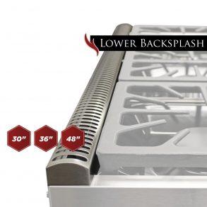 foto lower backsplash 01 293x293 - Stainless Steel Lower Backguard