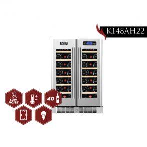 foto model k148ah22 4bot 01 293x293 - K148AH22 - 40 Bottles