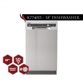"new products web 08 293x293 - K7740D - 18"" Dishwasher"