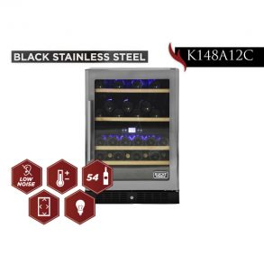 new products web 09 1 293x293 - K148A12C - 54 Bottles Black Stainless Steel