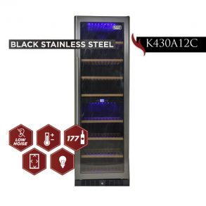 new products web 11 1 293x293 - K430A12C - 177 Bottles Black Stainless Steel