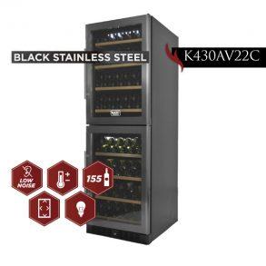 new products web 12 1 293x293 - K430AV22C - 155 Bottles Black Stainless Steel
