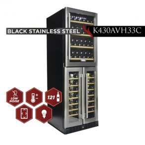 new products web 13 1 293x293 - K430AVH33C - 121 Bottles Black Stainless Steel