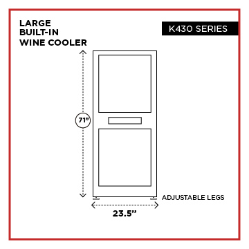 wine cooler sizes 01 1 - Select Wine Cooler