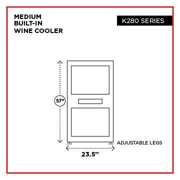wine cooler sizes 02 1 - Select Wine Cooler