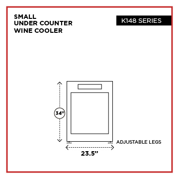 wine cooler sizes 03 1 - Select Wine Cooler