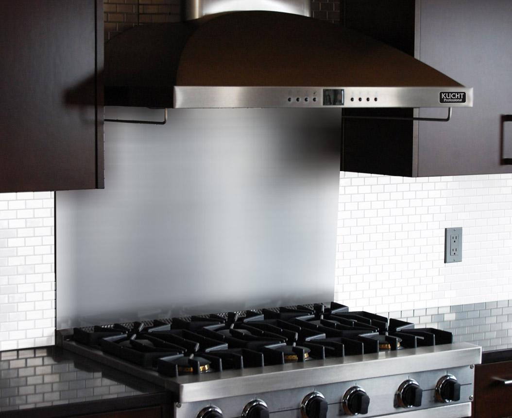 - Stainless Steel Premium Backsplash KUCHT Professional